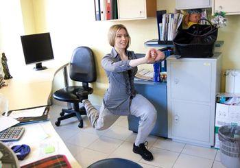 Фітнес в офісі