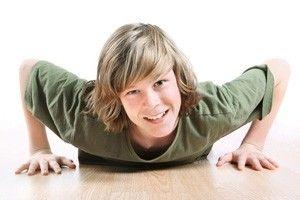 Вправи для підлітків