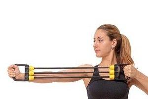 Вправи з еспандером